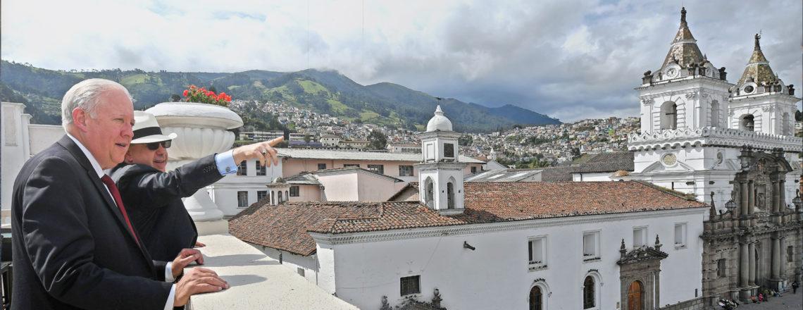 Under Secretary of State for Political Affairs, Thomas Shannon, Visits Ecuador